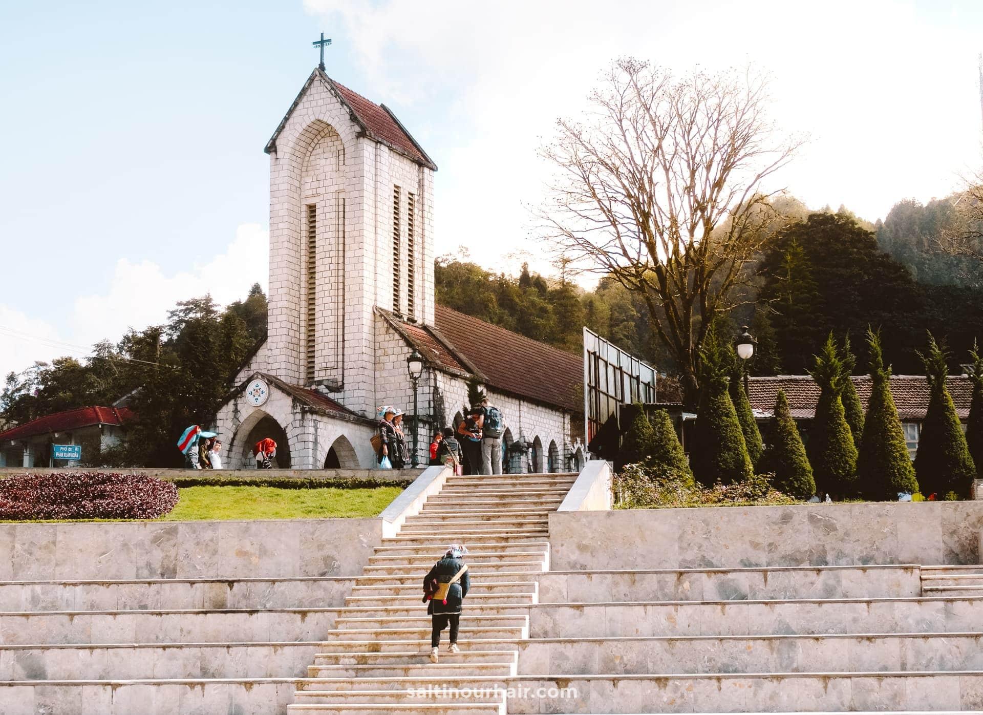 sapa town church