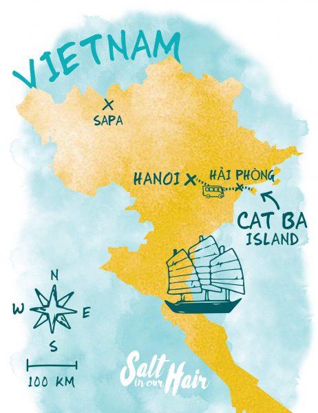 Halong Bay cheap tour Cat Ba Island