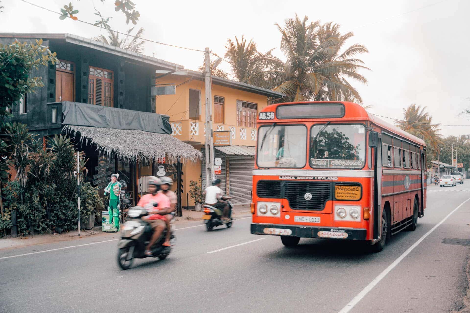 sri lanka route guide public transport