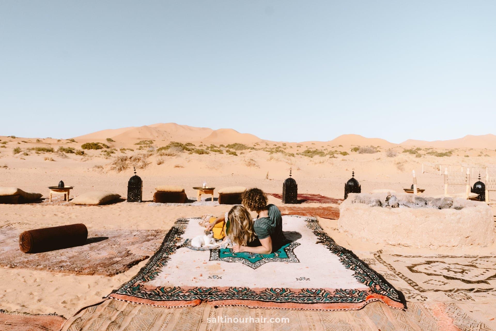 glamping morocco desert
