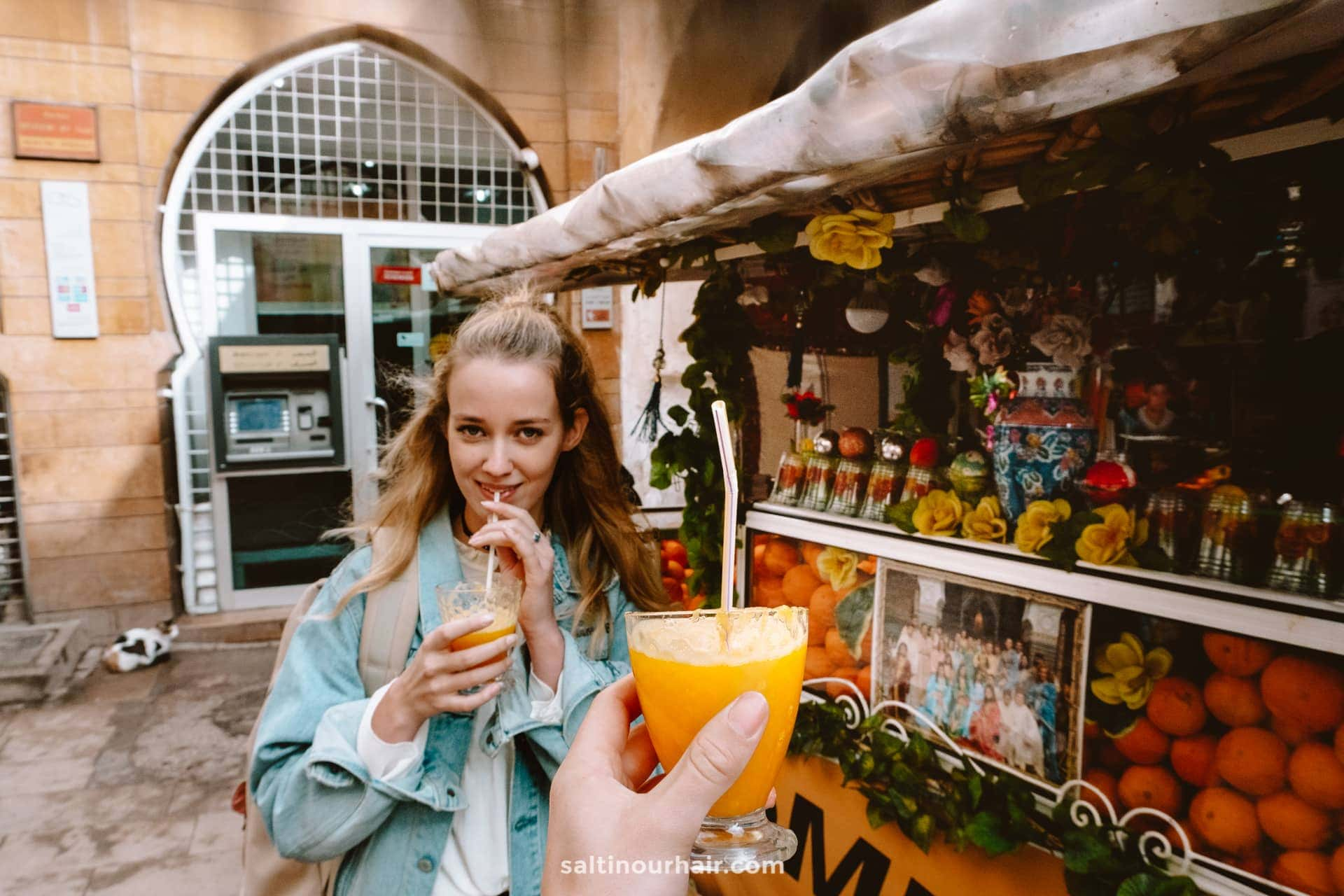 orange juice morocco