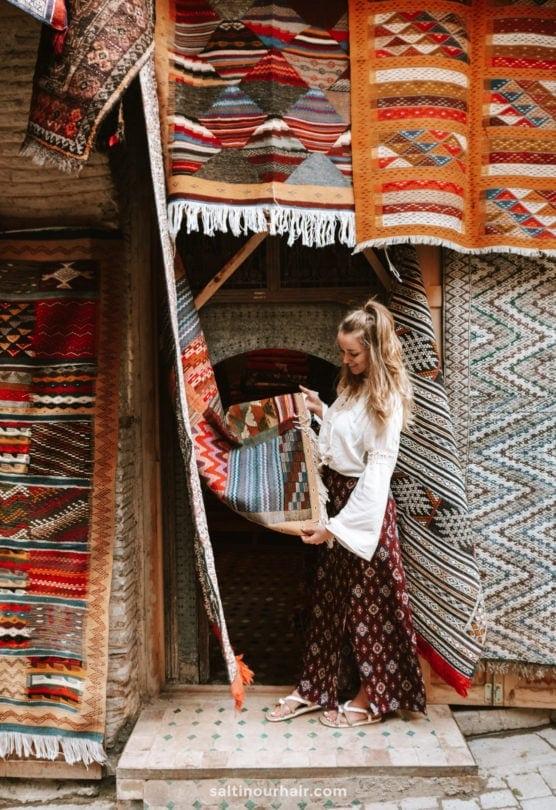 fes-morocco where to buy carpet