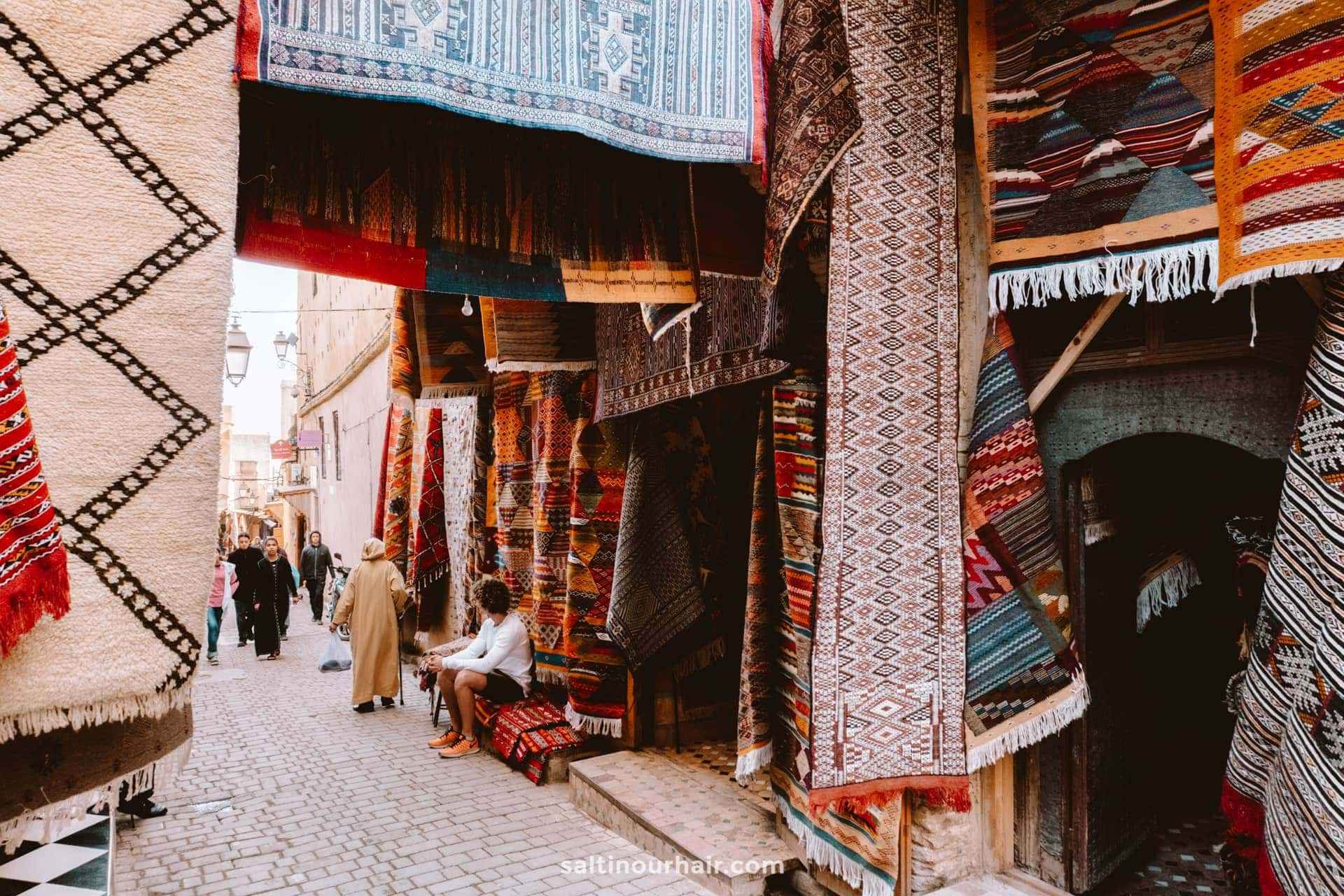 beautiful carpets morocco