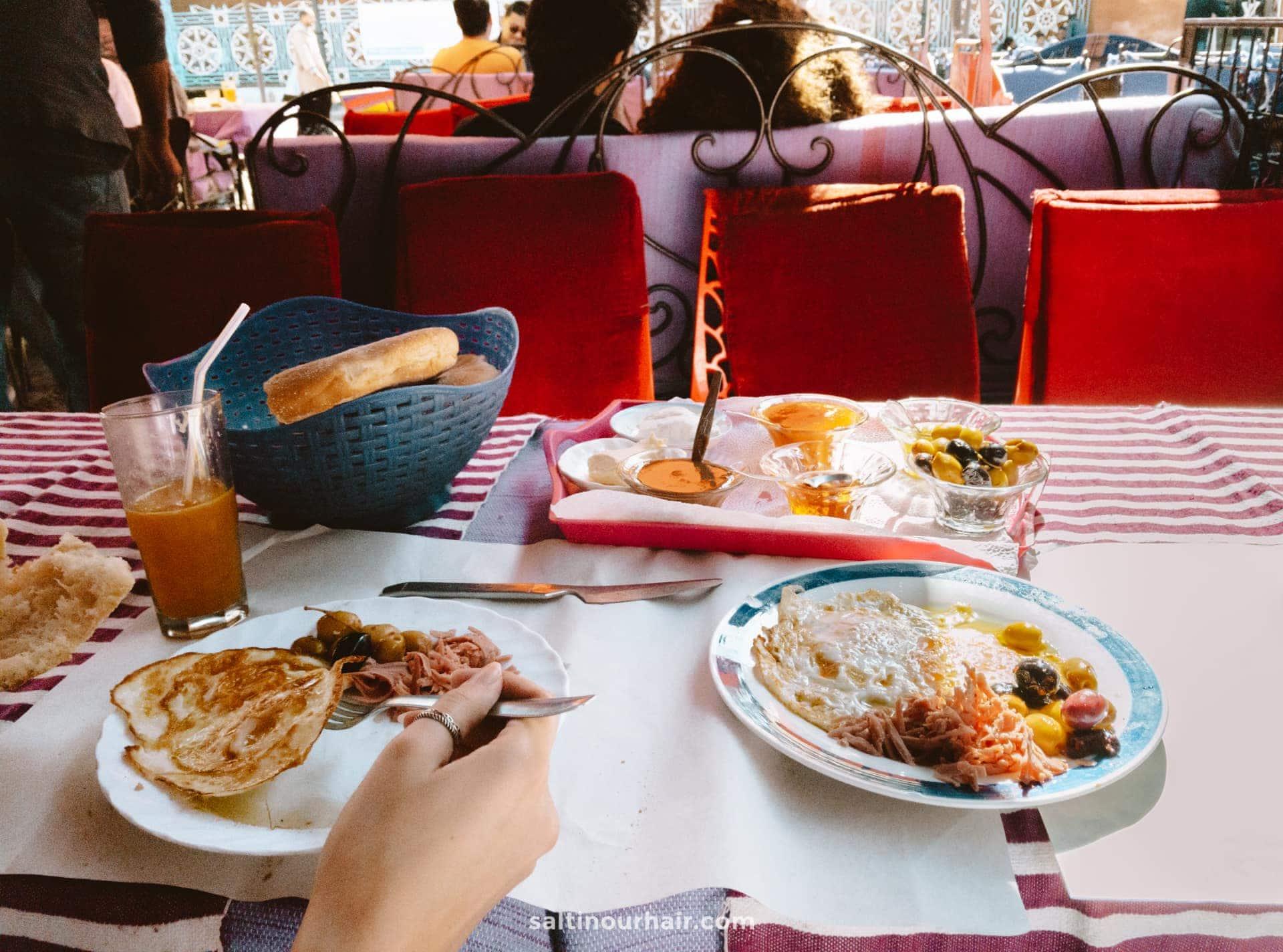 best breakfast chefchaouen