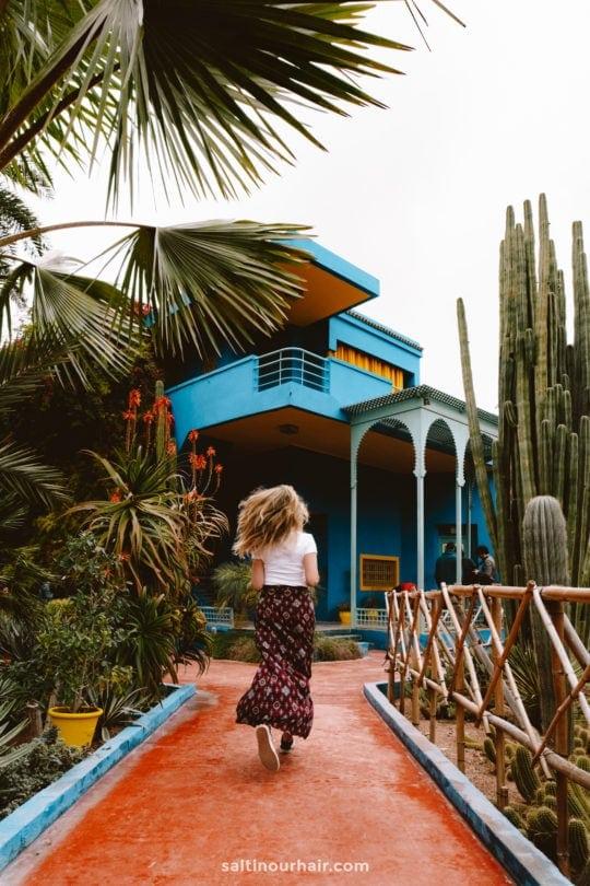 marrakech Yves Saint Laurent gardens