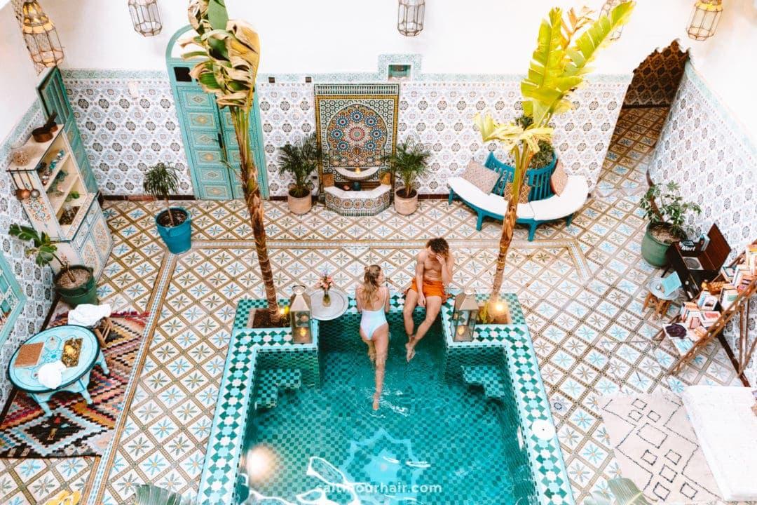 most beautiful riad marrakech morocco