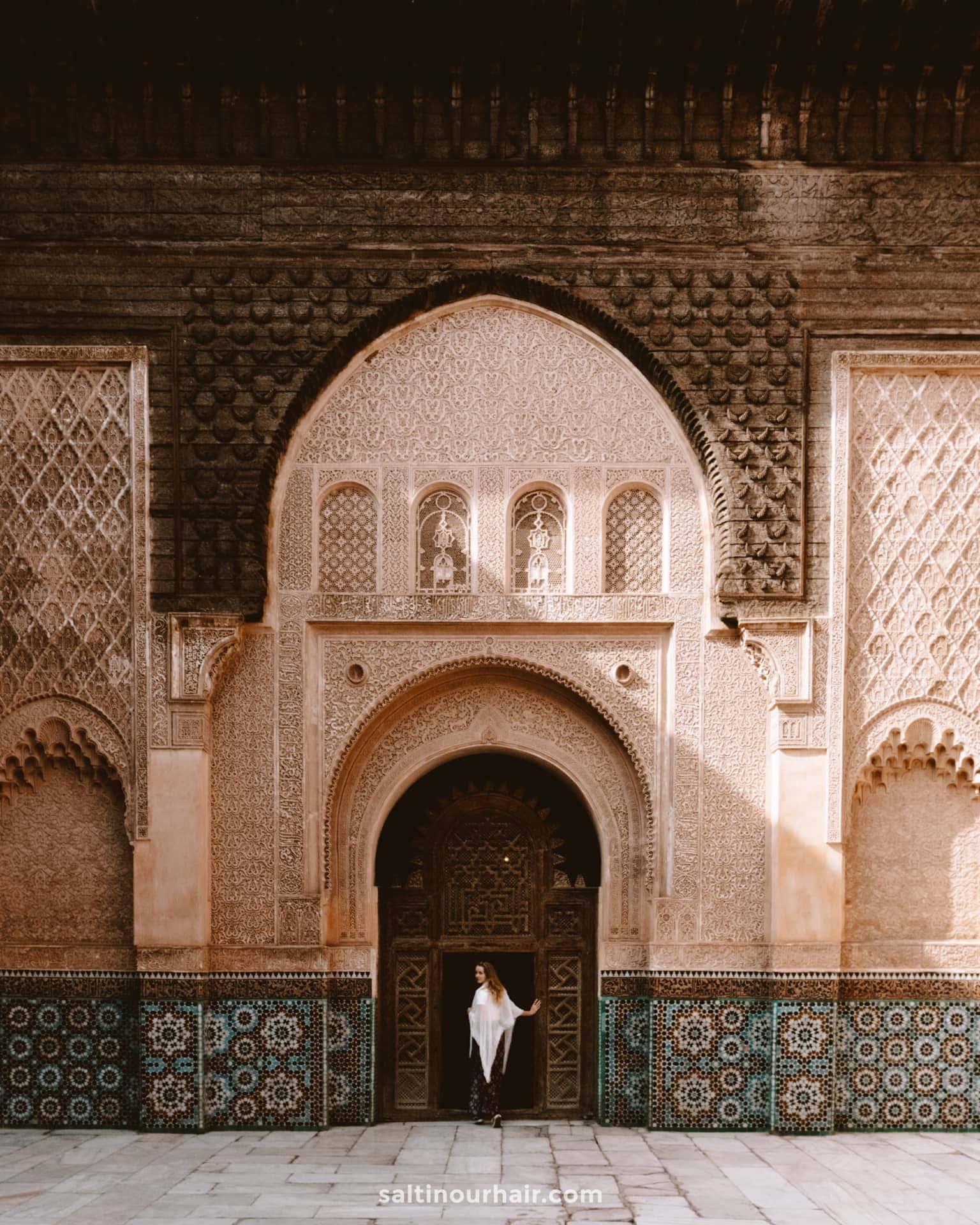 best things to do marrakech Ben Youssef Medersa