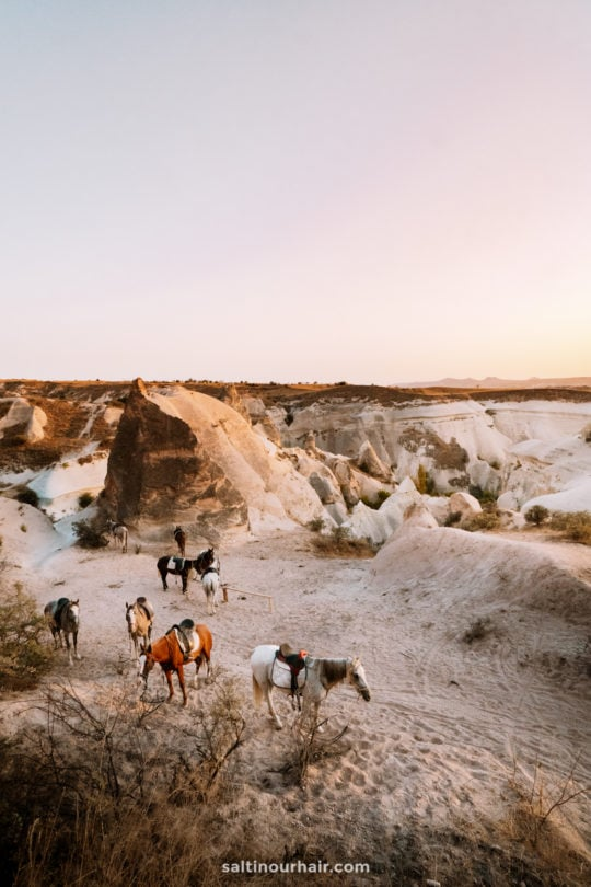 cappadocia things to do rose valley sunset horse riding