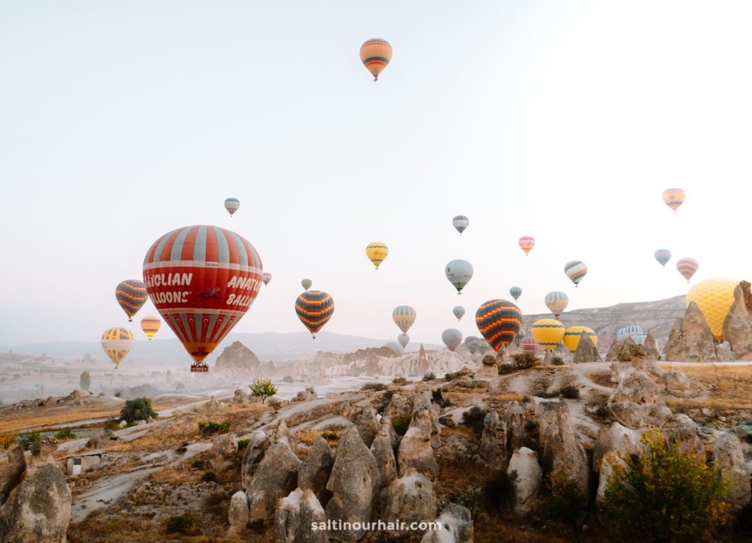 things to do cappadocia hot air balloon