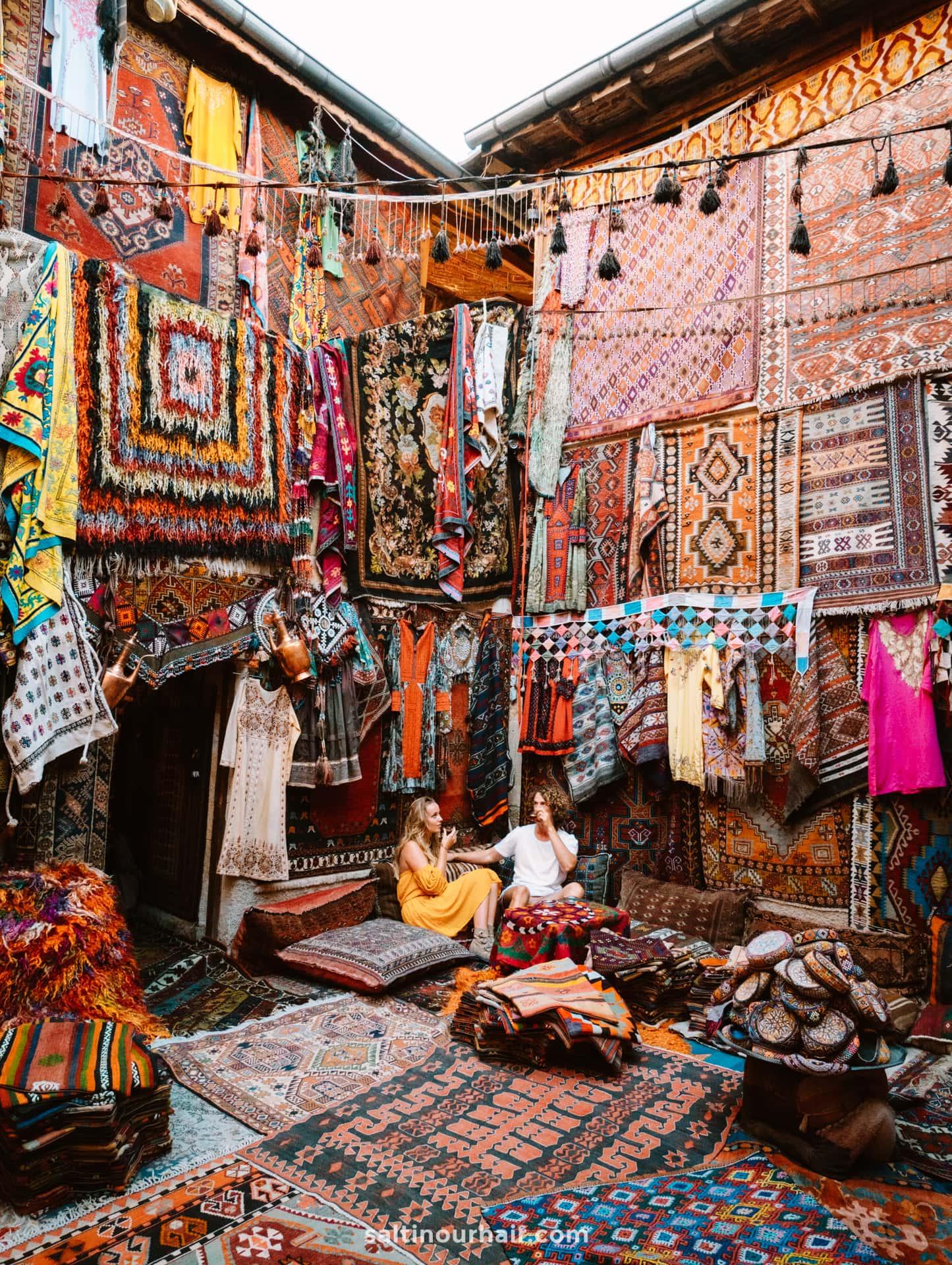 things to do cappadocia turkey carpet shop