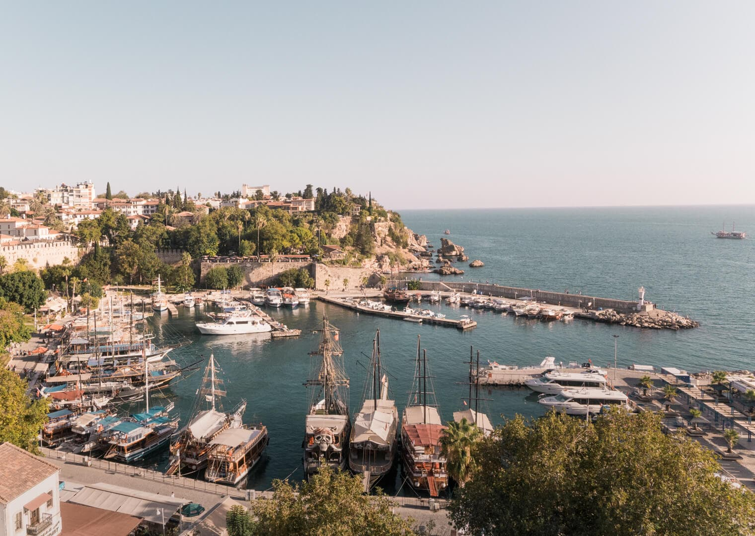 antalya old town guide harbor