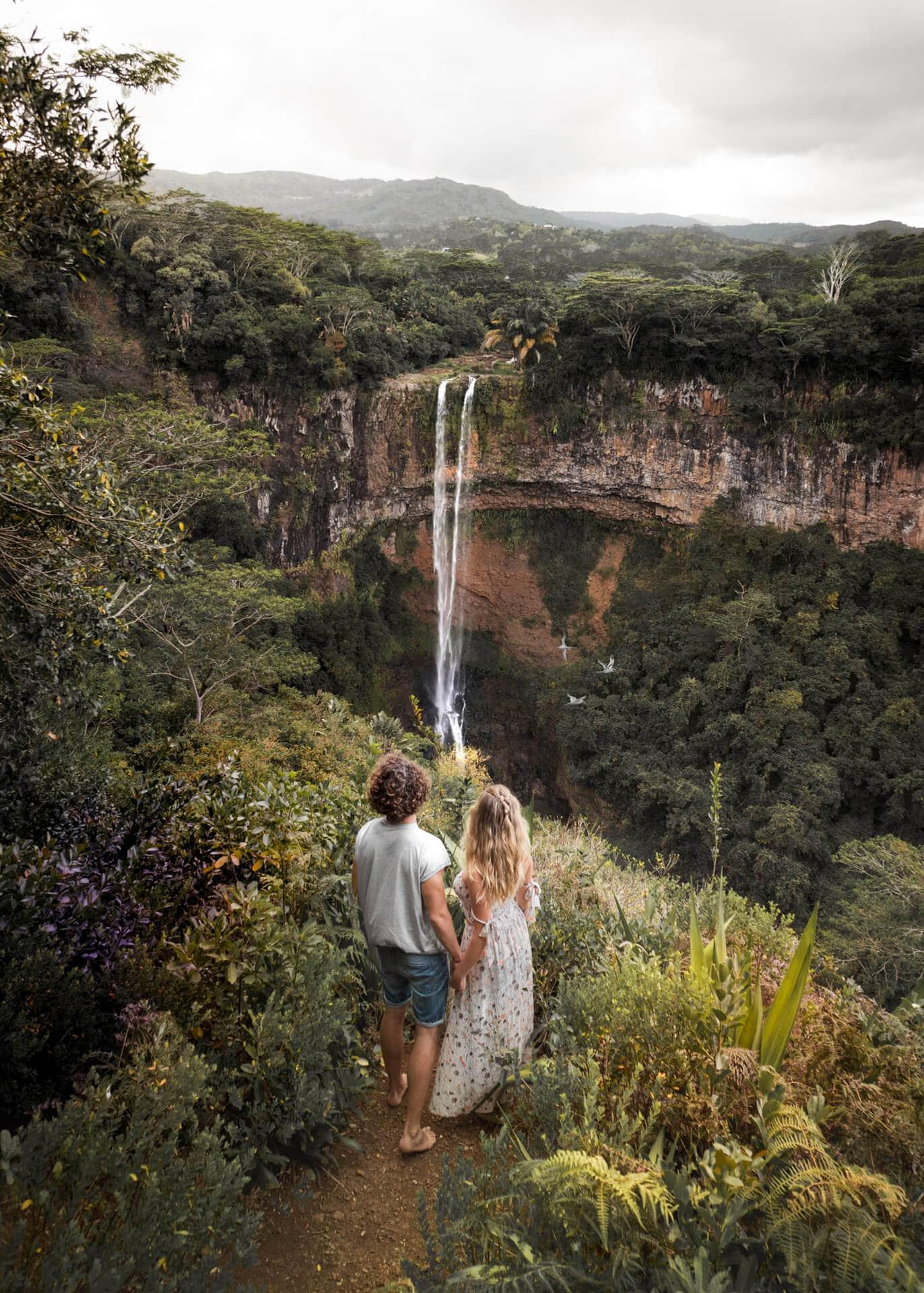 things to do mauritius chamarel waterfalls
