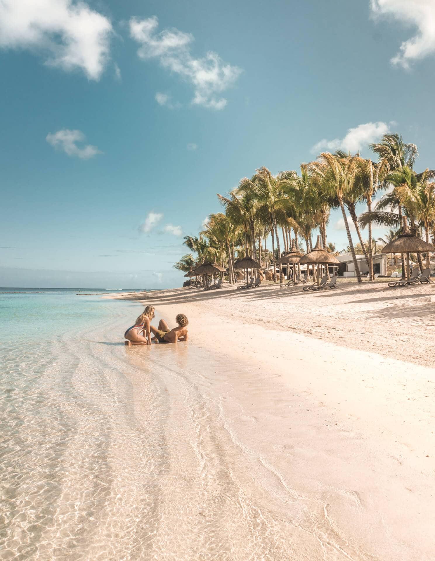 Best resort Mauritius beach