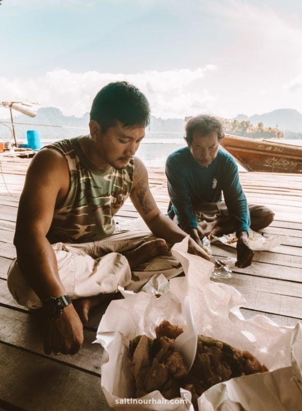 Khao Sok National Park Tour Fishing Village