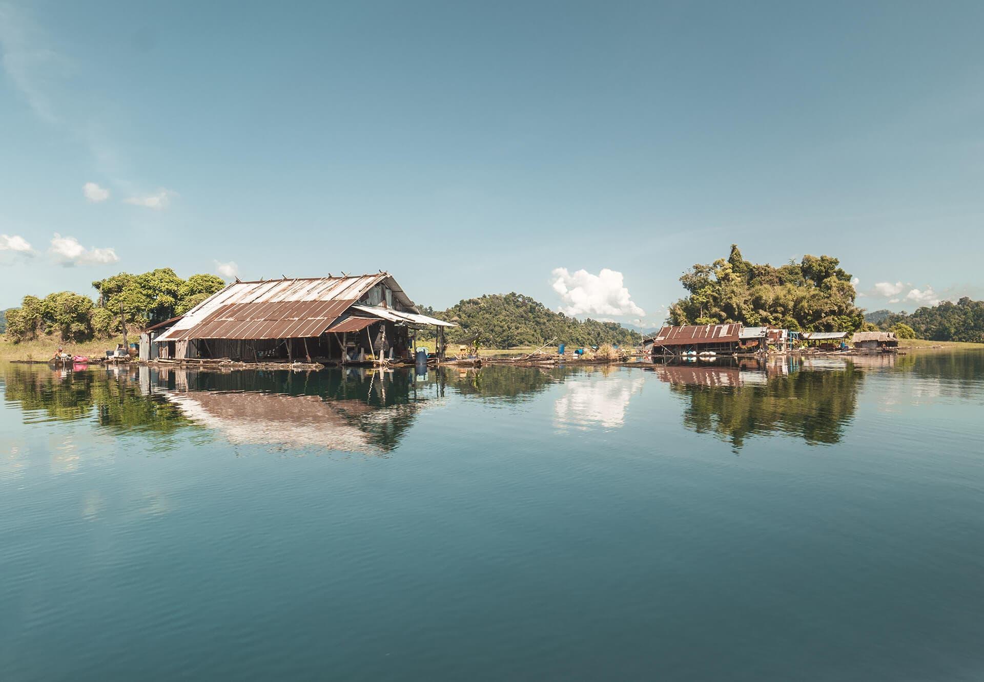 Khao sok lake tour local villages