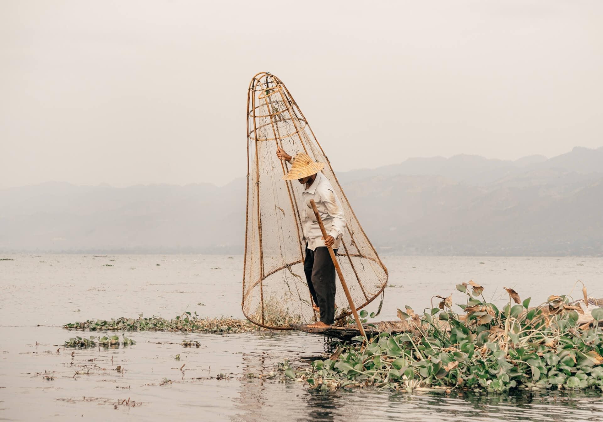 things to do inle lake fisherman