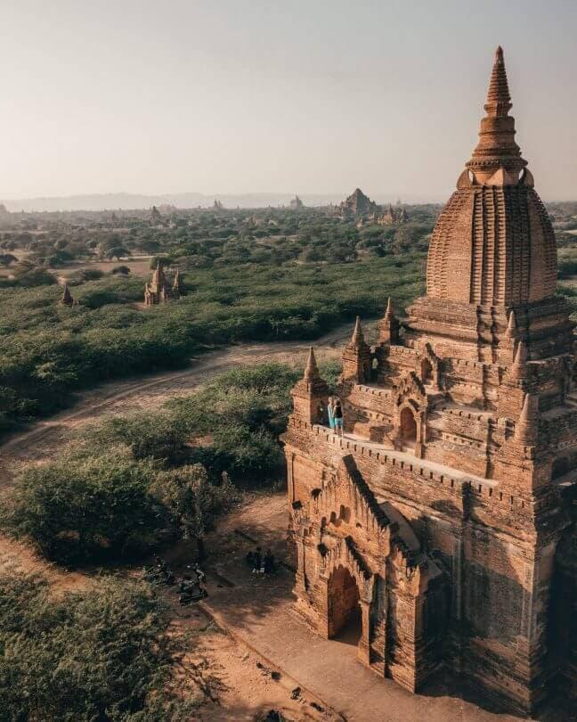 bagan guide sunrise temples