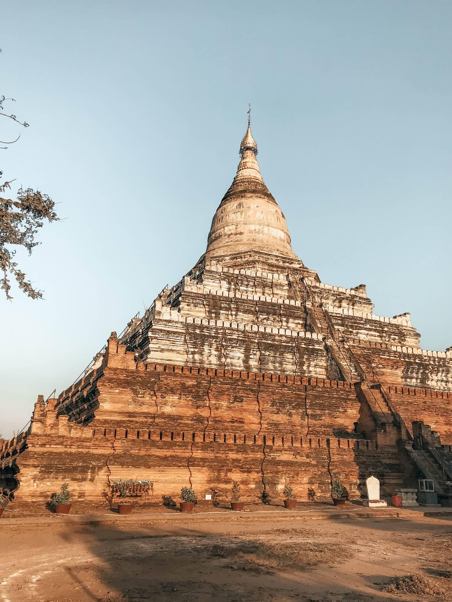 Best Bagan Temples Shwesandaw Pagoda