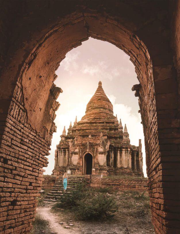 Myanmar Travel Guide Bagan temples