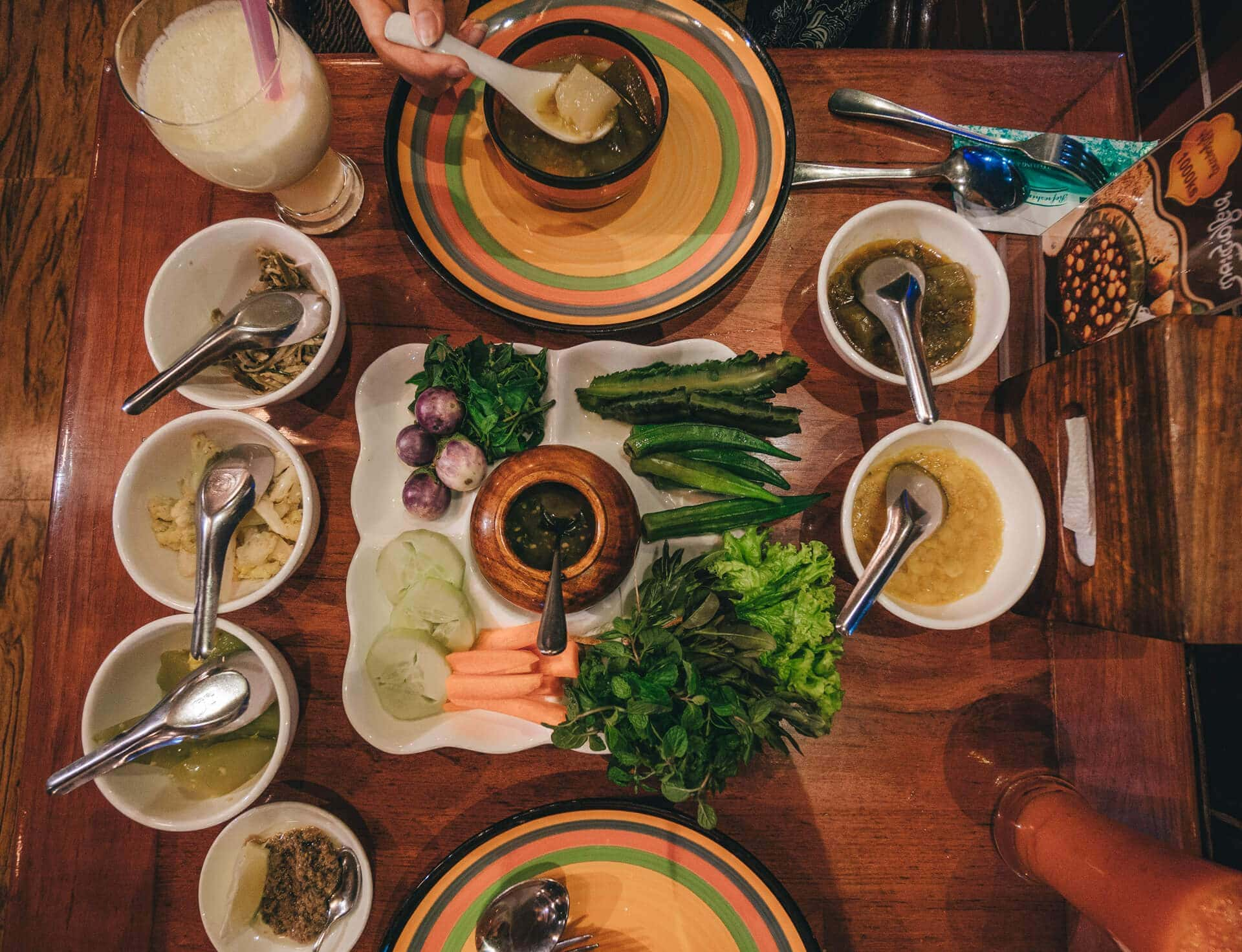 Things to do Mandalay Myanmar Mingalarbar dinner