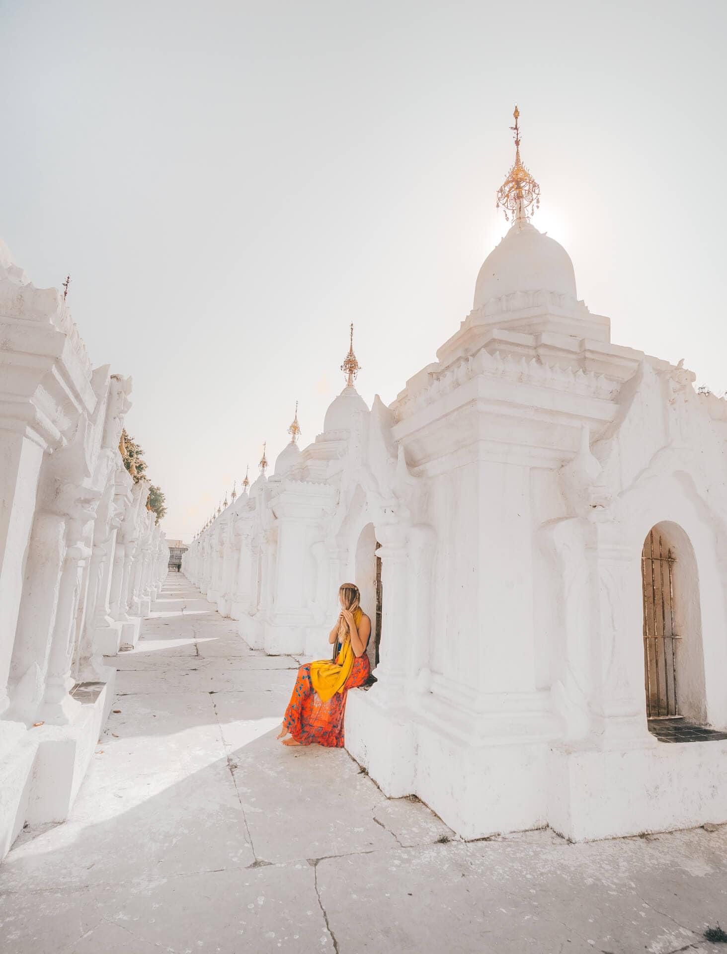 Things to do Mandalay Myanmar Kuthodaw Pagoda