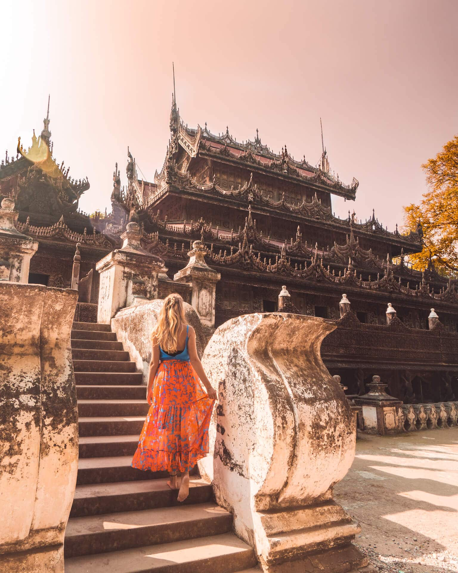 Things to do Mandalay Myanmar Shwenandaw Monastery