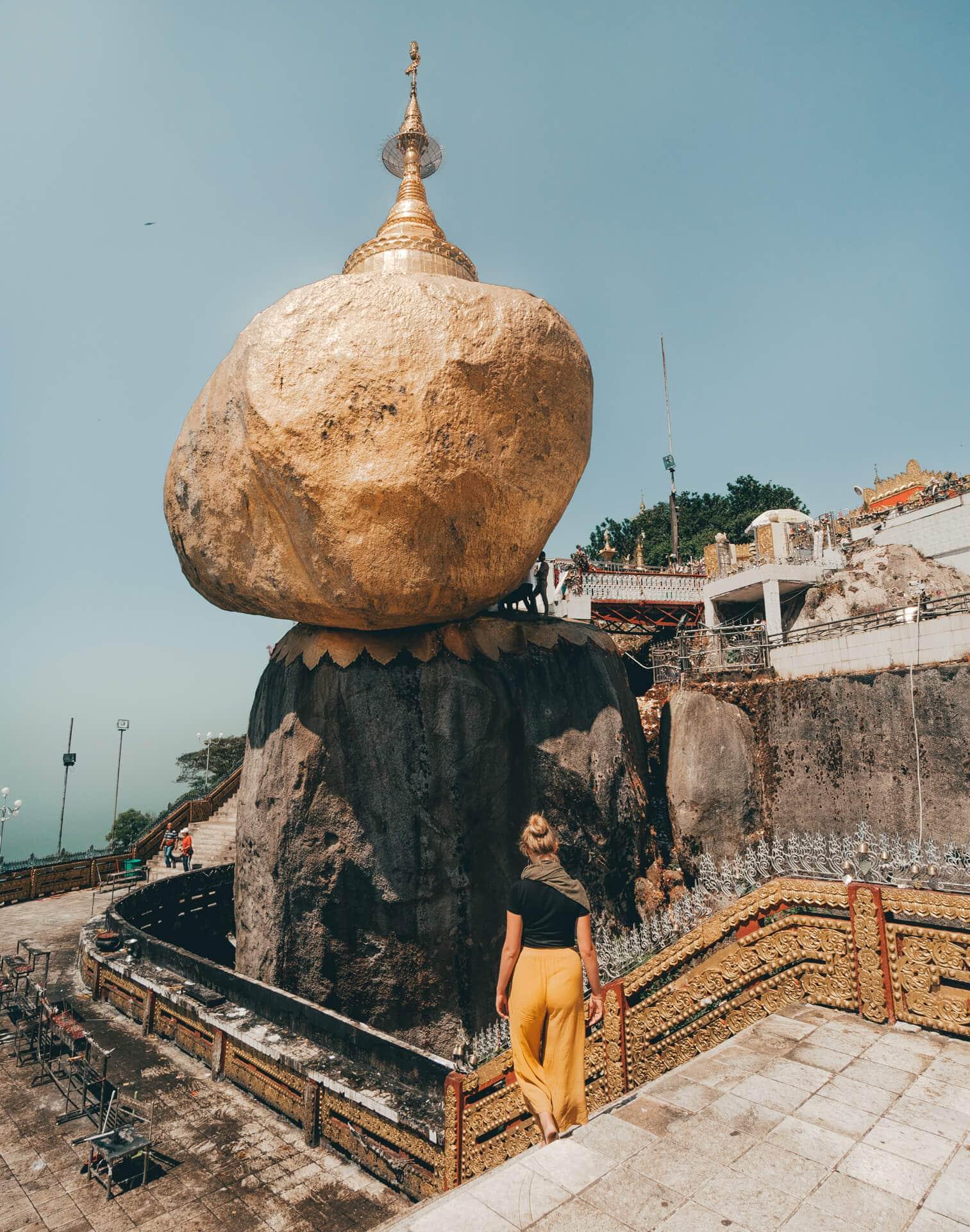 things to do Hpa An myanmar golden rock