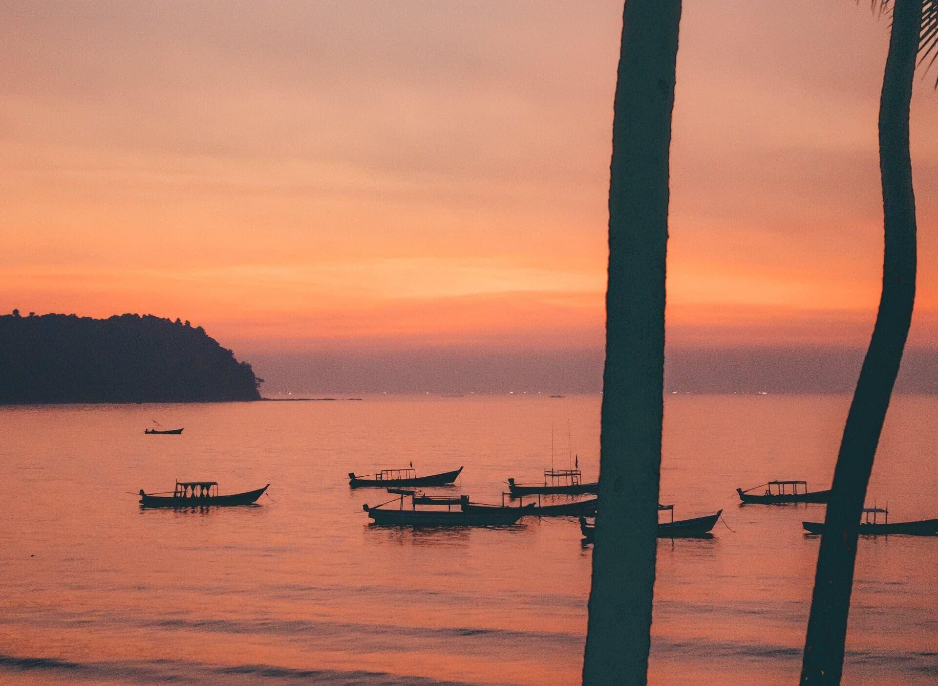 ngapali most beautiful beach sunset