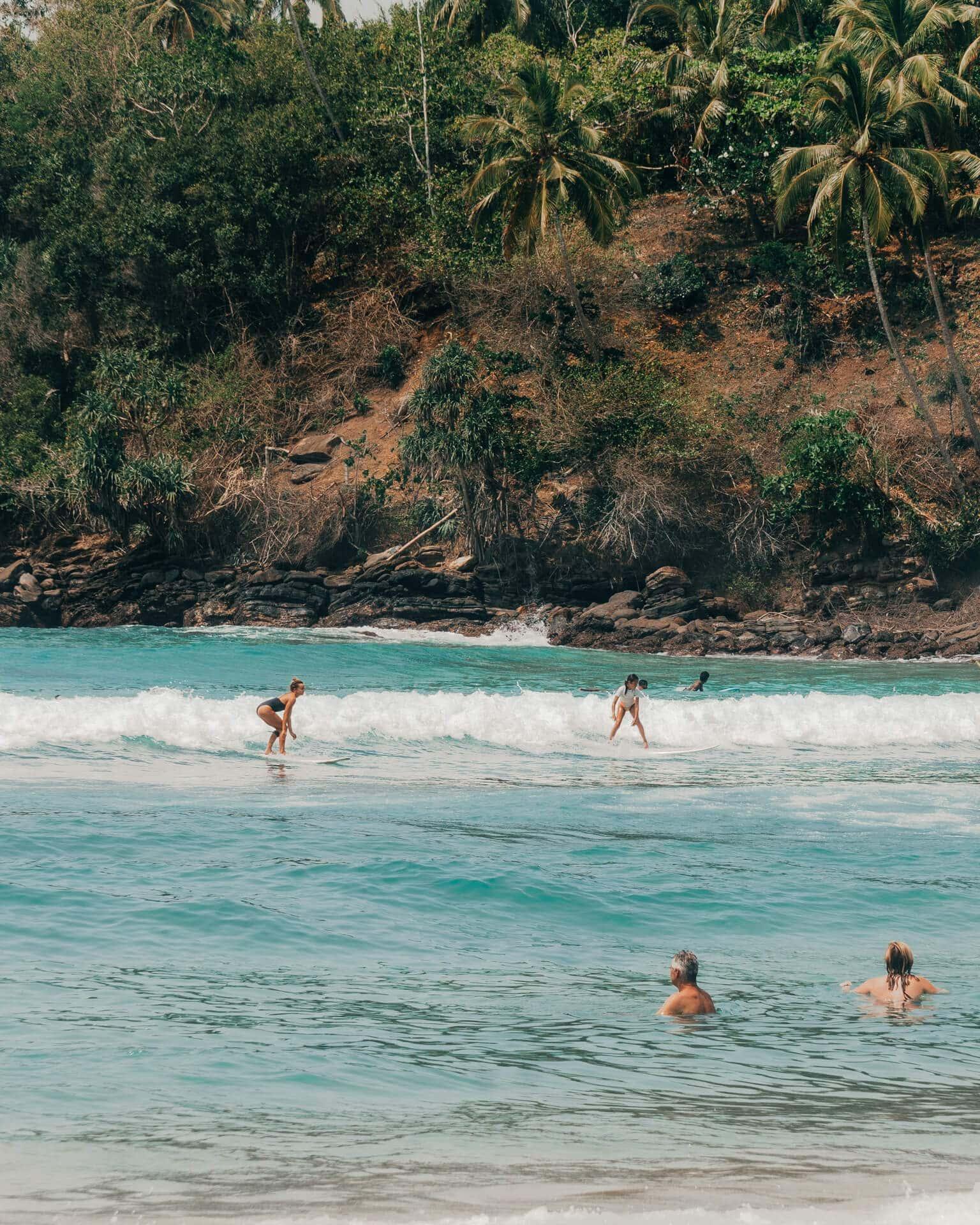things to do unawatuna sri lanka surf