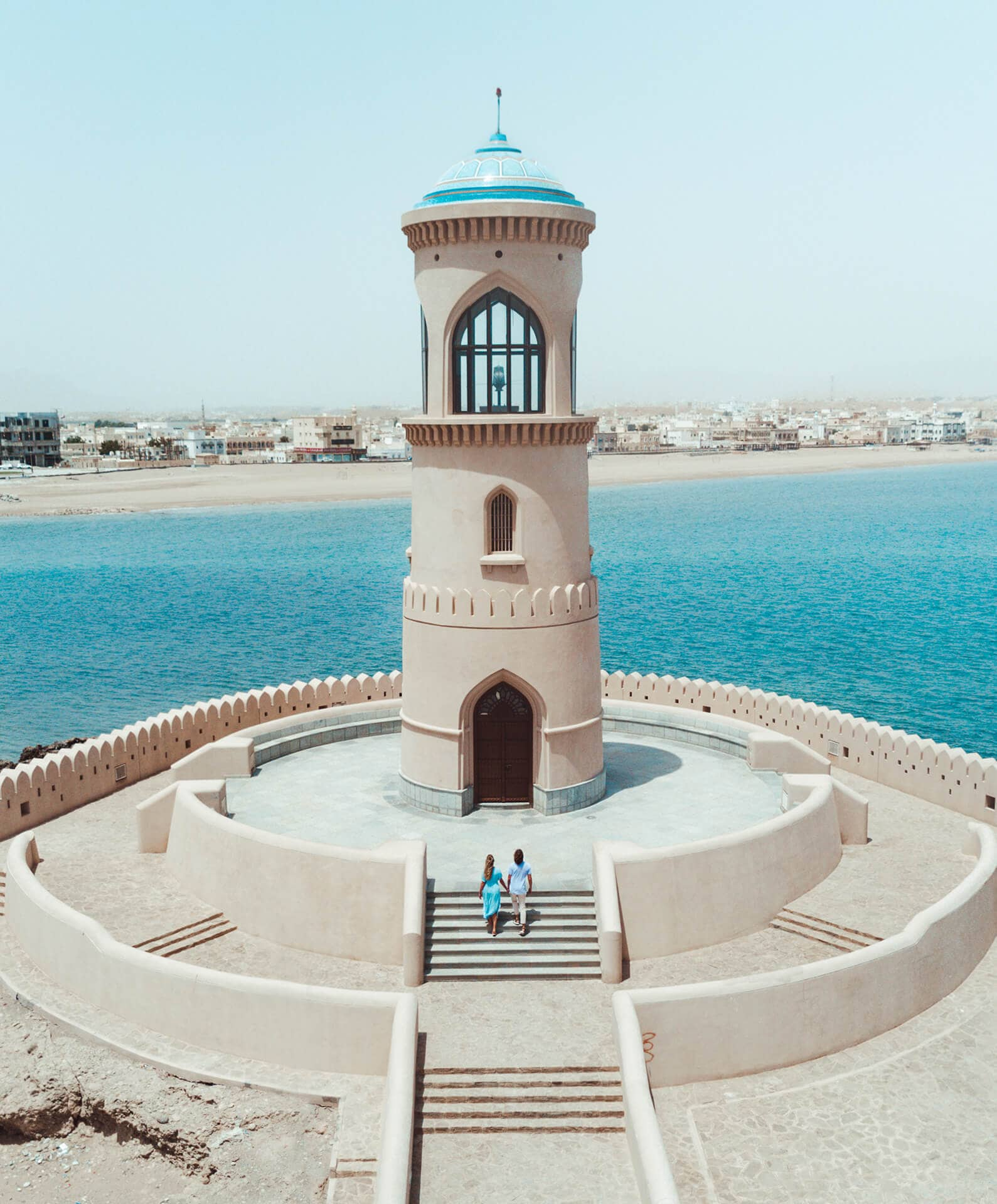 oman route guide sur lighthouse