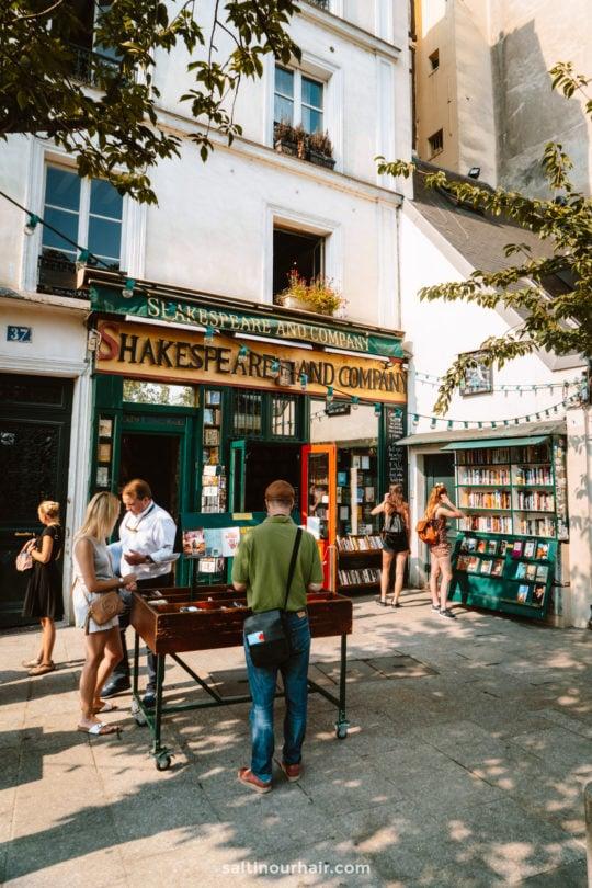 paris famous bookstore shakespeare