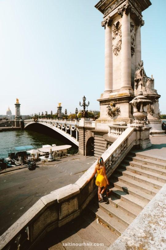 paris city trip River Seine