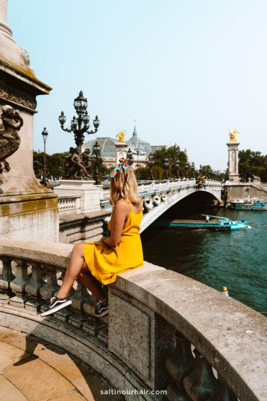 paris bridge River Seine