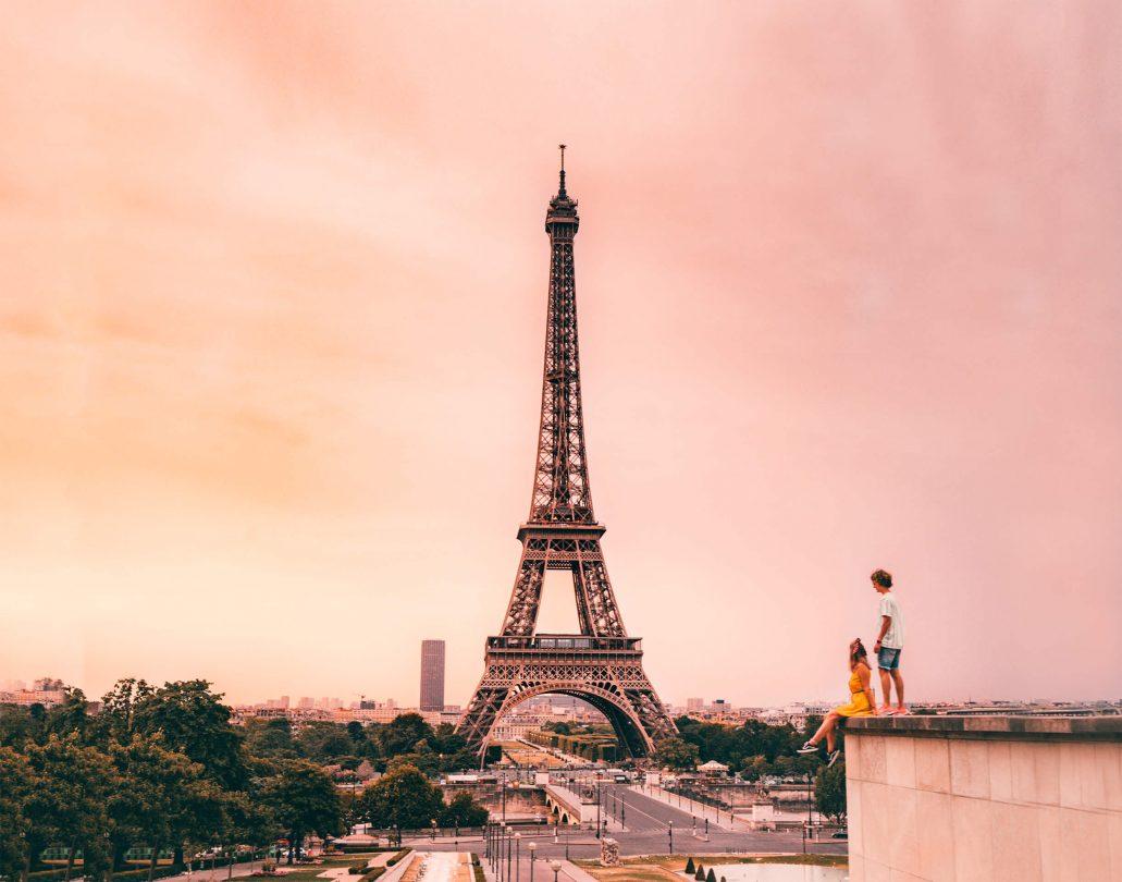 paris city trip guide header