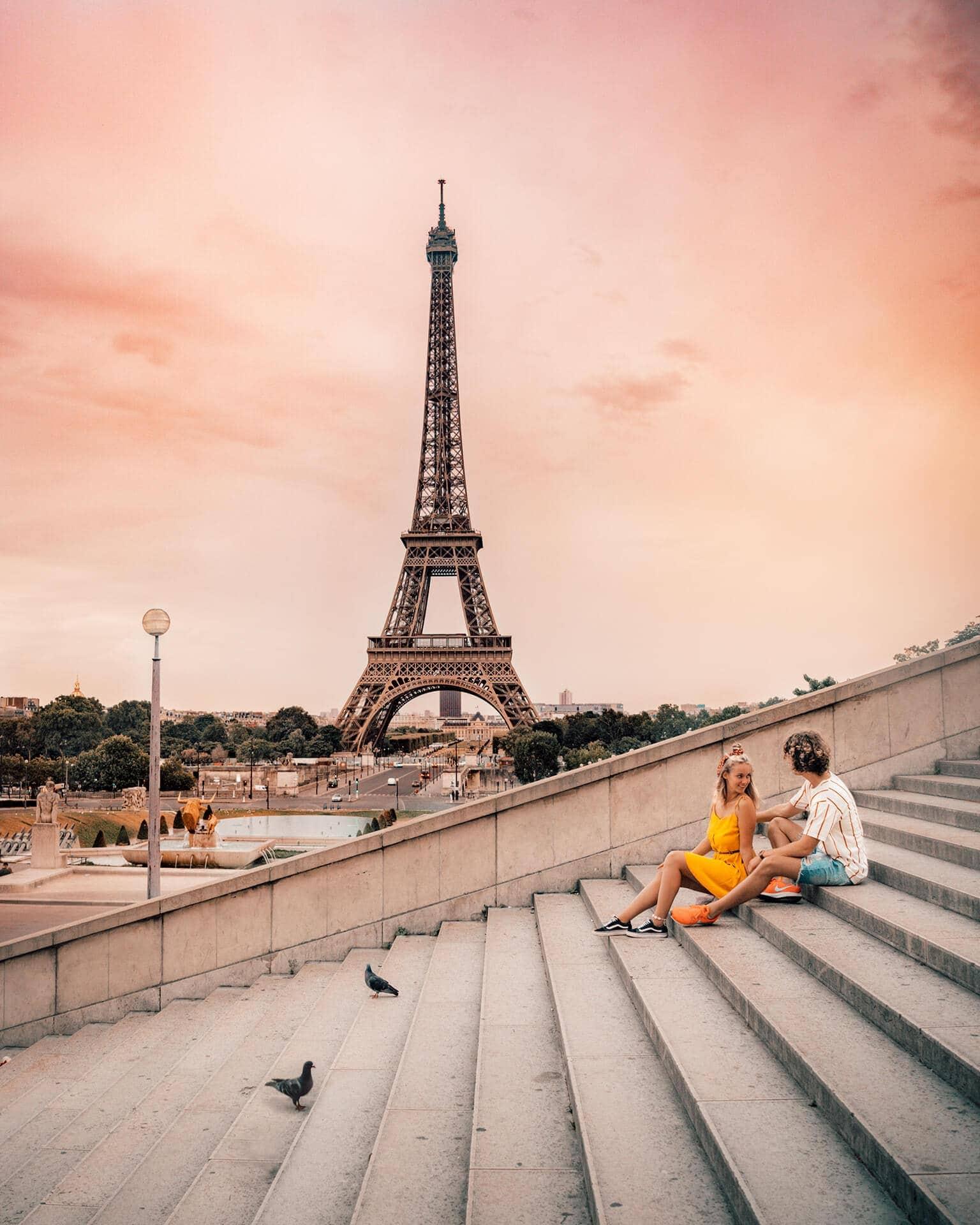 paris city trip guide eiffel tower view