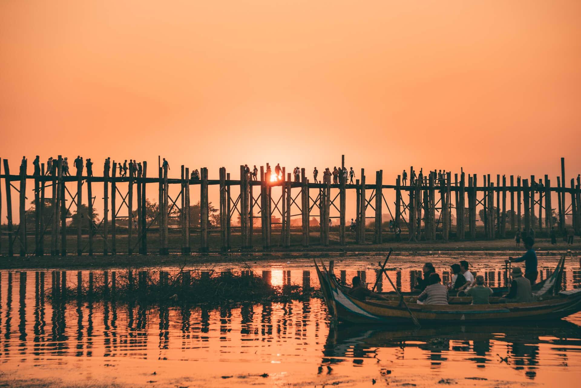 reasons must visit myanmar u bein bridge