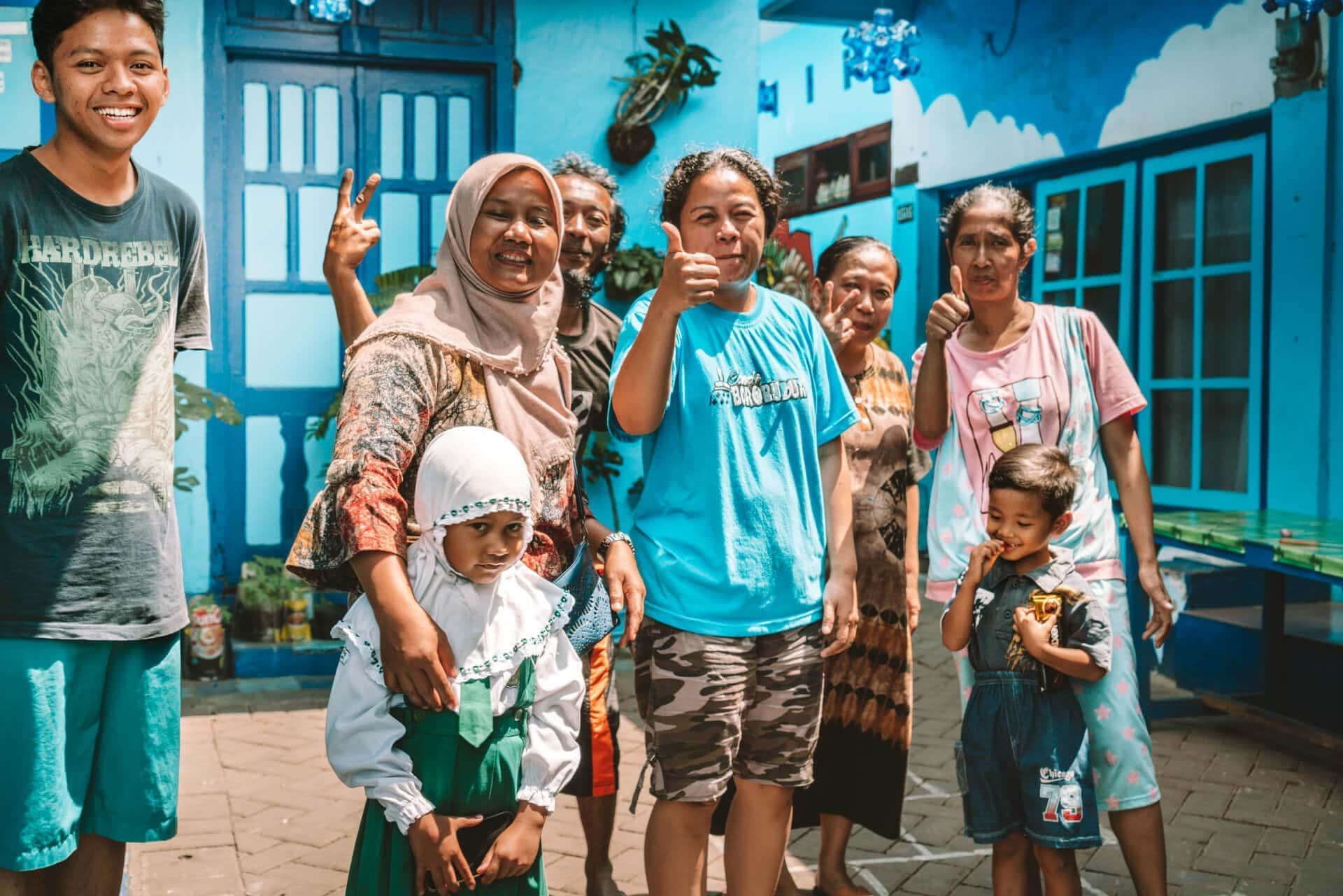 things to do malang java blue kampung biru arema people