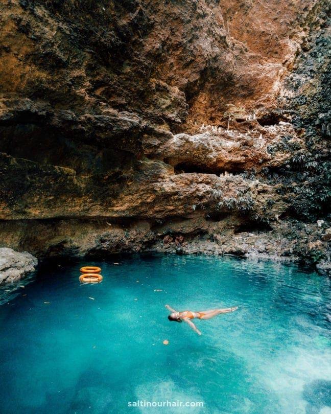 tembnusa-penida Tembeling swim natural pool