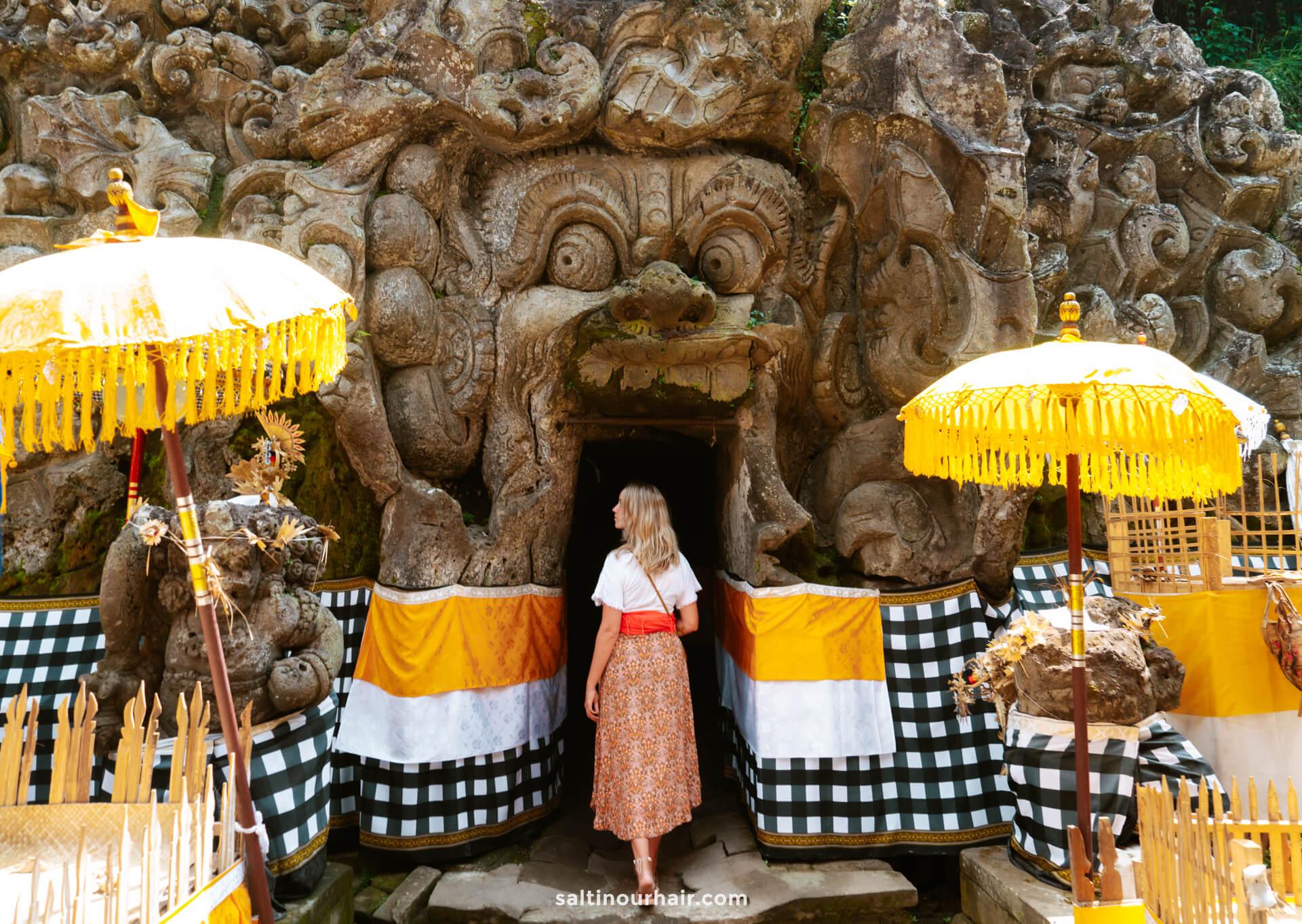 things to do ubud Goa Gajah Elephant Cave