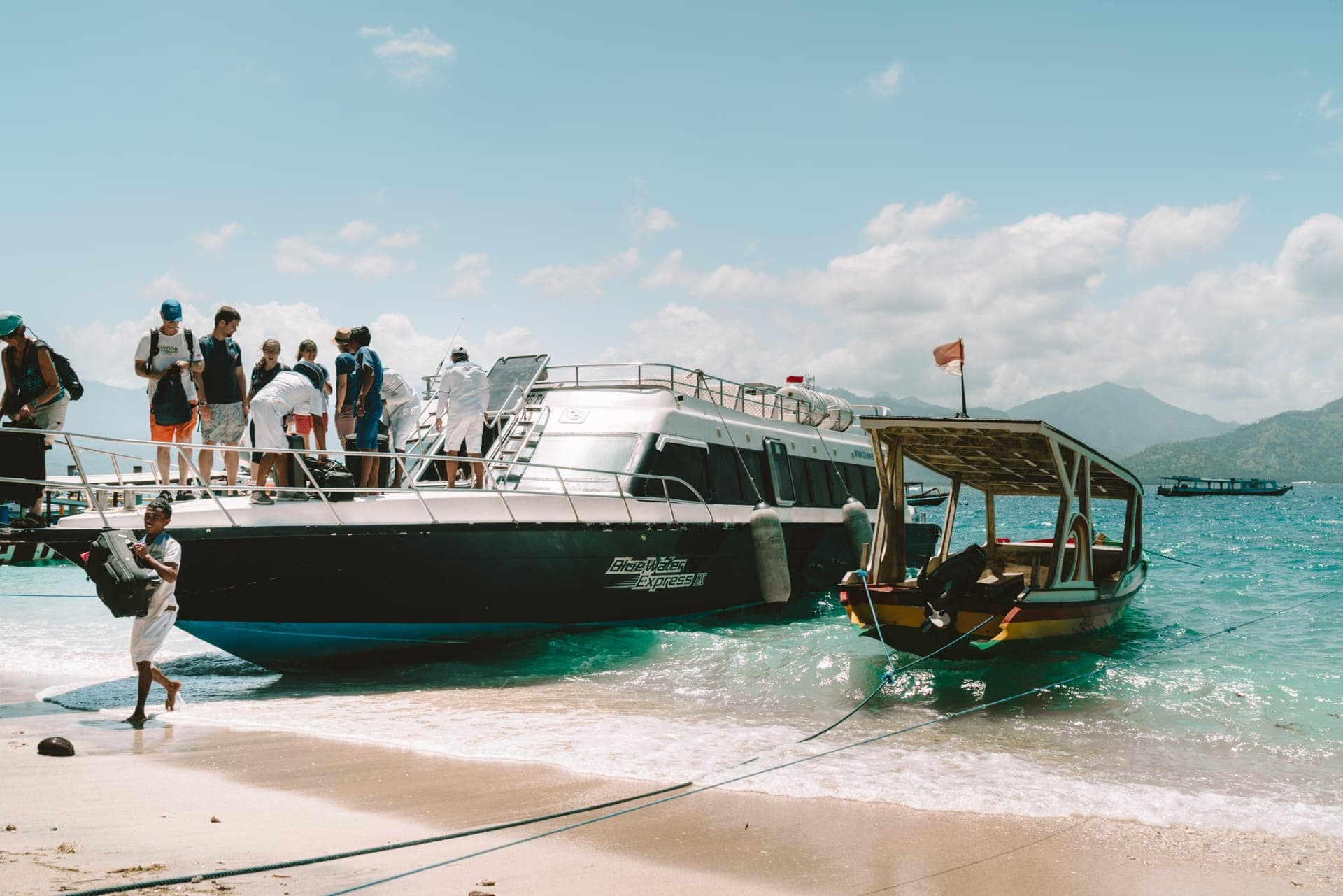things to do gili air ferry fast boat