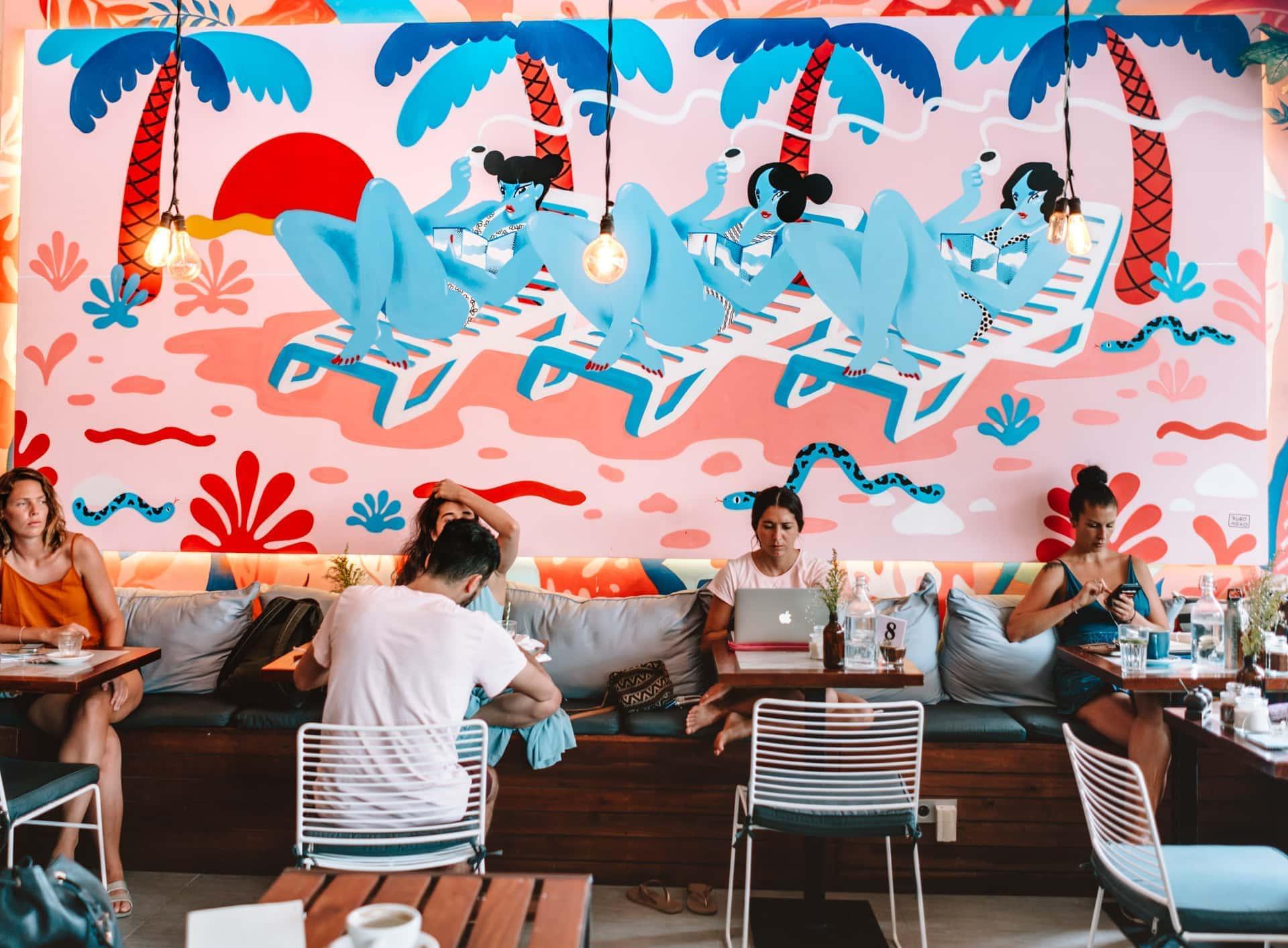best cafes work canggu bali ruko