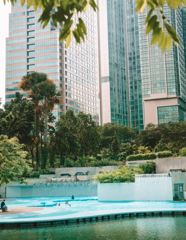 malaysia klcc park pool