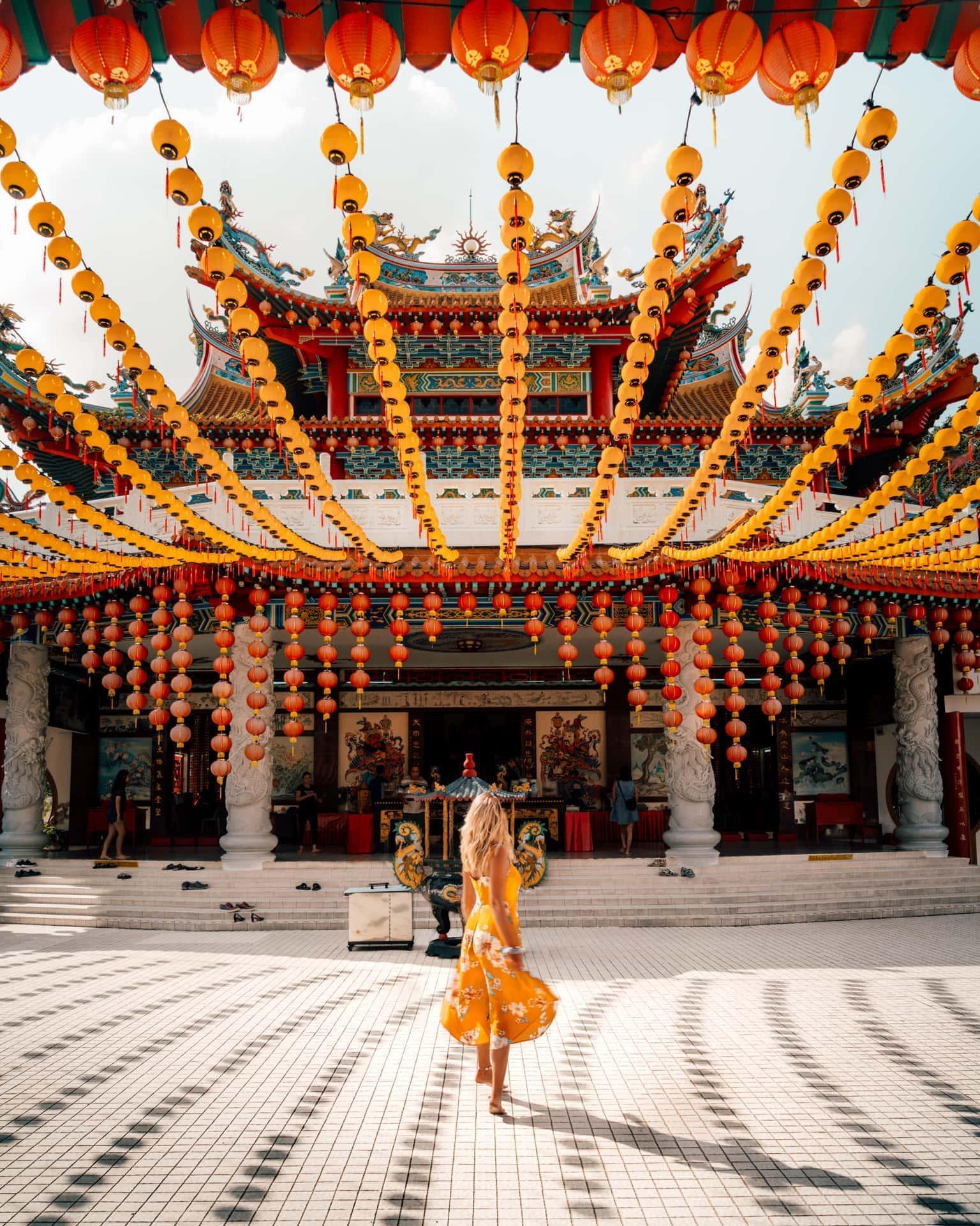 things to do kuala lumpur thean hou temple