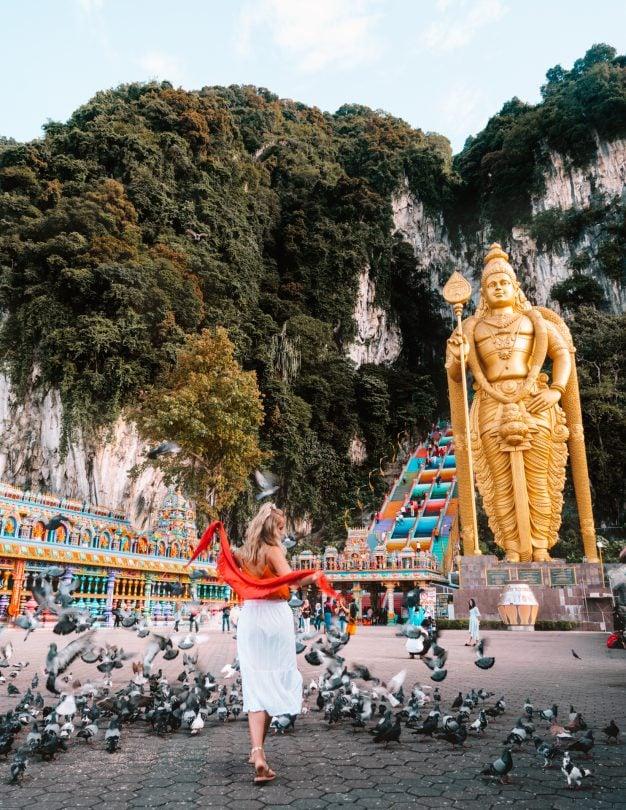 batu cave buddha malaysia