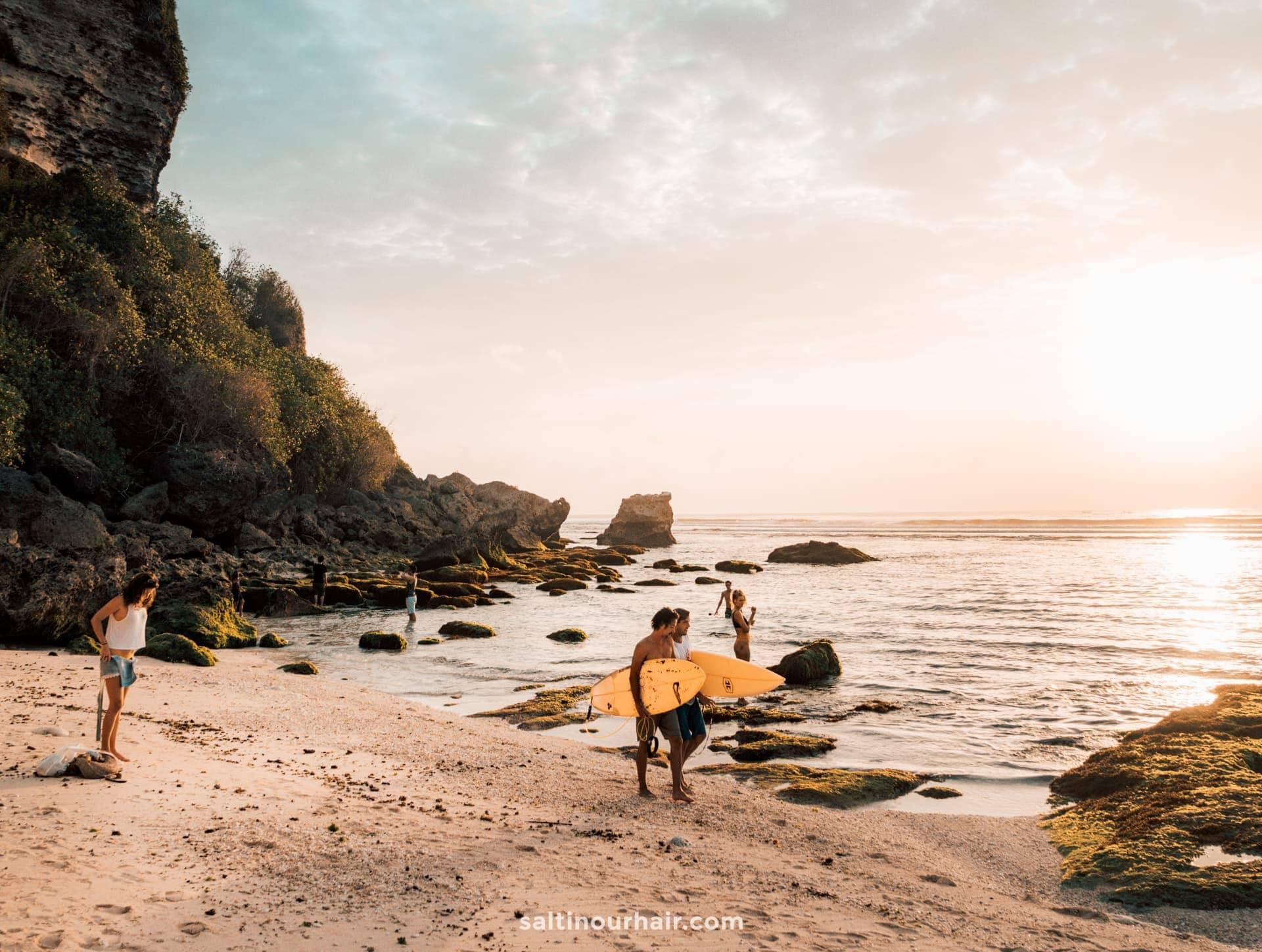 things to do uluwatu suluban beach
