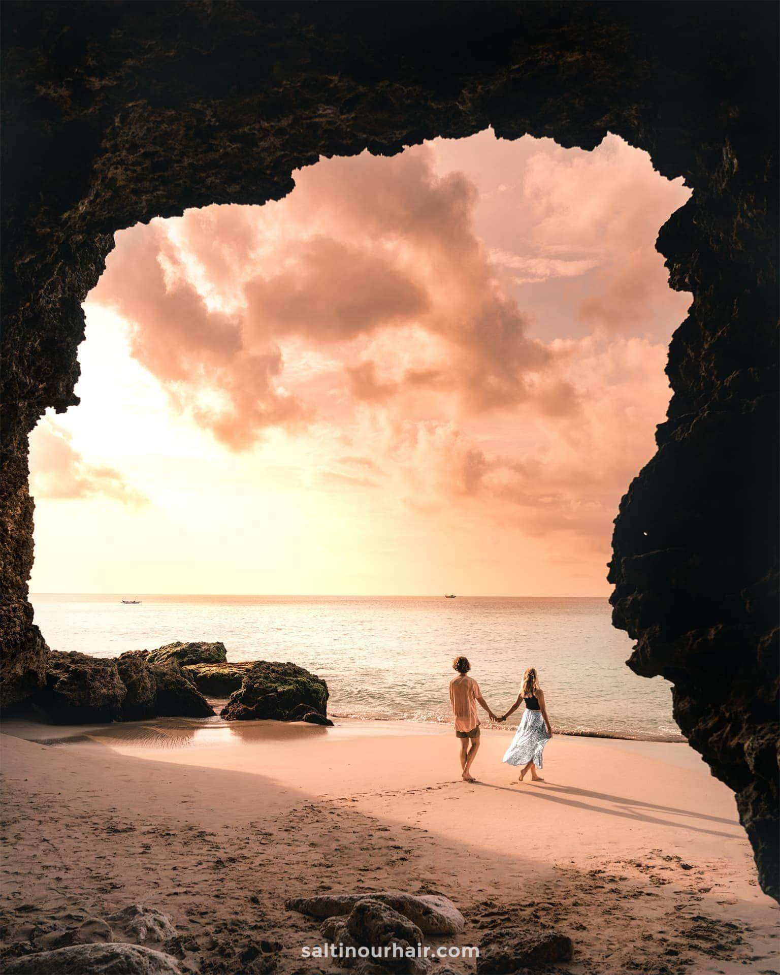 things to do uluwatu pantai tegal wangi cave