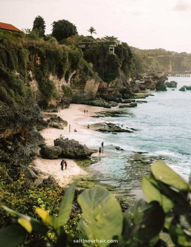 things to do uluwatu pantai tegal wangi beach