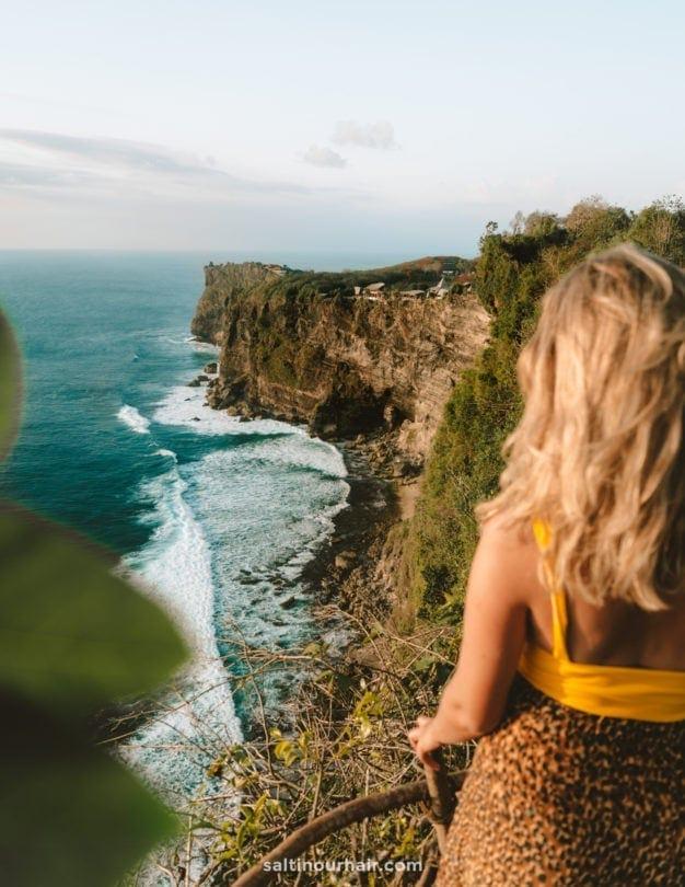 things to do uluwatu karang boma cliff