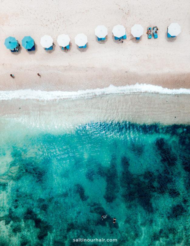 things to do uluwatu thomas beach drone