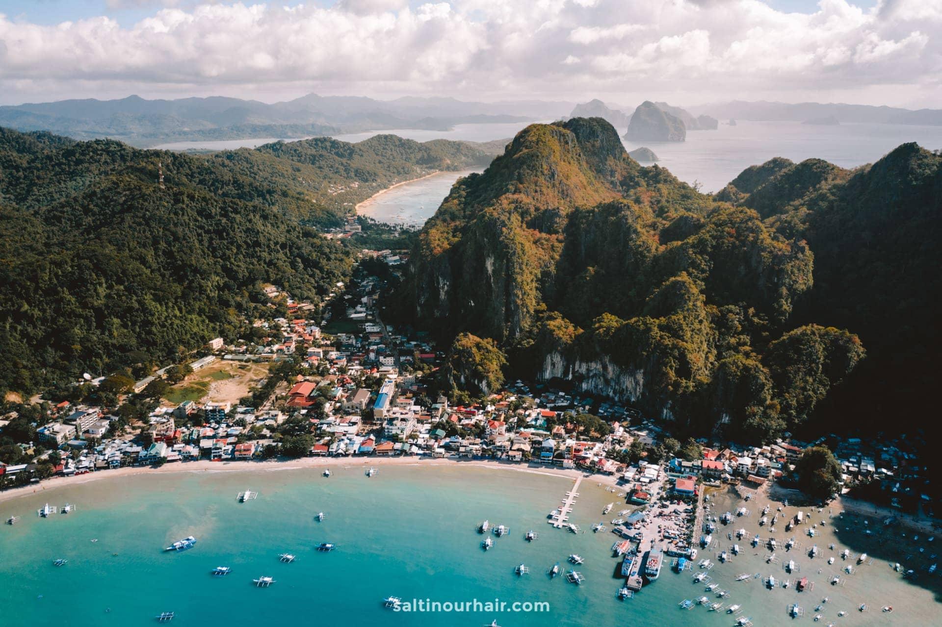 travel guide el nido town